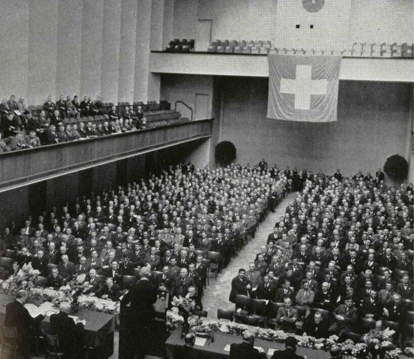 Die Delegiertenversammlung des schweizerischen Raiffeisenverbandes
